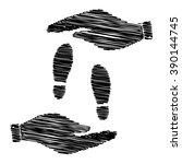 imprint soles shoes sign. save...