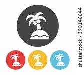 island icon | Shutterstock .eps vector #390146644