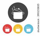 pot icon | Shutterstock .eps vector #390153835