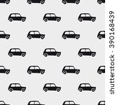seamless pattern car art ... | Shutterstock .eps vector #390168439