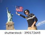 Tourist in new york