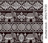vintage graphic vector indian... | Shutterstock .eps vector #390175735