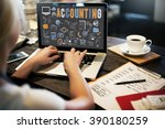 administration education... | Shutterstock . vector #390180259