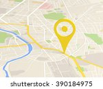 map locator icon | Shutterstock . vector #390184975