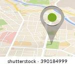 map locator icon   Shutterstock . vector #390184999
