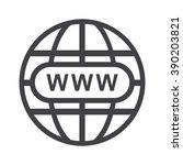 website icon jpg | Shutterstock .eps vector #390203821
