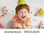 Screaming Child In Birthday...