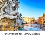 Rome  Italy. Fountain Of The...