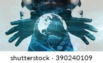 robust and scalable system with ... | Shutterstock . vector #390240109