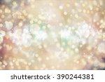 background with blinking stars | Shutterstock . vector #390244381