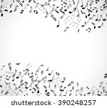 abstract musical concert flyer... | Shutterstock .eps vector #390248257