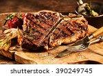 Succulent grilled large t bone...