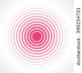 concentric circle elements.... | Shutterstock .eps vector #390254731