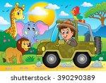 safari theme image 1   eps10... | Shutterstock .eps vector #390290389
