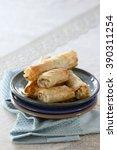 pastry dish | Shutterstock . vector #390311254