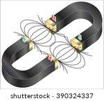 magnetism | Shutterstock .eps vector #390324337