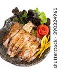 chicken teriyaki | Shutterstock . vector #390324961