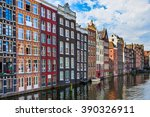 Traditional Houses On Canal In...