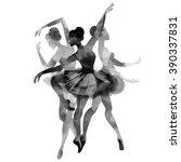 ballet | Shutterstock .eps vector #390337831