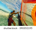 Selfie Photo Of Windsurfing...