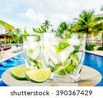 mojito. | Shutterstock . vector #390367429