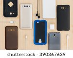 collection cell phone  ... | Shutterstock . vector #390367639