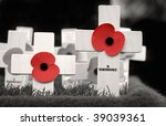 Crosses Placed In Remembrance...