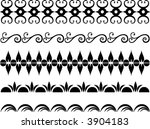 set of original design elements. | Shutterstock .eps vector #3904183
