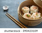 Shrimp Shumai  A Steamed Dish...