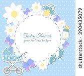 Baby Shower Boy Invitation Car...