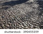 abstract background of cobble... | Shutterstock . vector #390455359