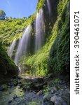 Small photo of Waterfall Mada kari pura location East Java