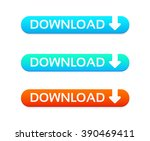 download web buttons | Shutterstock .eps vector #390469411