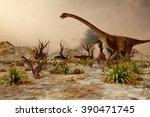 Dinosaur. Prehistoric Jungle ...