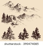 nature design elements ...   Shutterstock .eps vector #390474085