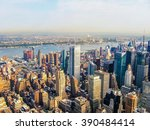 New york city manhattan skyline ...