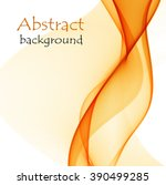 abstract background with orange ... | Shutterstock .eps vector #390499285
