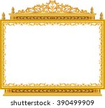Gold Photo Frame With Corner...