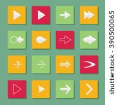 set arrow icons vector...