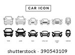 car icon | Shutterstock .eps vector #390543109