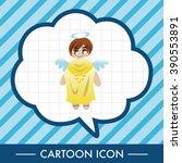 angel theme elements vector eps | Shutterstock .eps vector #390553891