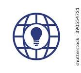bulb icon .