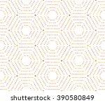 geometric repeating vector...   Shutterstock .eps vector #390580849