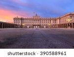 Royal Palace In Madrid Spain At ...