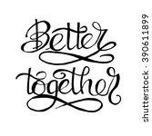 motivational and inspirational...   Shutterstock .eps vector #390611899