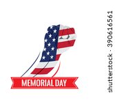 isolated hand with the american ...   Shutterstock .eps vector #390616561