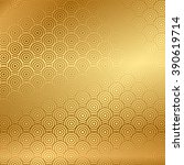 vector gold background with... | Shutterstock .eps vector #390619714