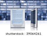 e book  e learning  modern...   Shutterstock . vector #39064261