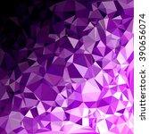 purple polygonal mosaic... | Shutterstock .eps vector #390656074