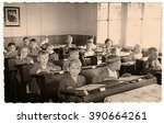 the czechoslovak socialist... | Shutterstock . vector #390664261